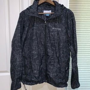 Columbia Men's Cloudy and Rowdy rain jacket